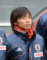 FUSSBALL   INTERNATIONAL   Testspiel    Japan - Brasilien          16.10.2012 Takashi INUI (Japan)