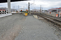 New Parking Area. New Haven Rail Yard, Independent Wheel True Facility. CT-DOT Project # 0300-0139, New Haven CT. Progress Photograph of Construction Progress Photo Shoot 3 on 3 October 2011