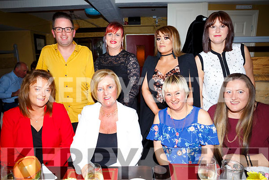 Friends night out at the Brogue on Saturday front L-r Trish Moriarty, Annetta Horan, Mary Cronin, Denise Vickers, Eric Cronin, Lisa Hubbert, Tina Donnelly, Yvonne Donnelly