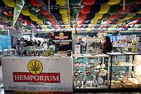 Roma, 19 Febbraio 2016<br /> CanapaMundi, seconda fiera della Canapa al Palacavicchi