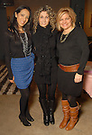 From left: Paulina Garcia, Adriana Gonzalez and Kathy Dimmitt at the Les Provinciales Design for a Cause event at Roche Bobois Thursday Dec. 10,2009.(Dave Rossman/For the Chronicle)