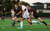 Kings College Hockey, Boys 1st XI v Penleigh and Essendon Grammar School (Melbourne). Kings College, Auckland, Monday 9 April 2018. Photo: Simon Watts/www.bwmedia.co.nz