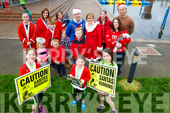 This year's Tralee Santa 5k Fun Run will take place on Sunday, December 10 at 11am from the Tralee Bay Wetlands