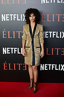 Mina El Hammani attends to 'Elite' premiere at Museo Reina Sofia in Madrid, Spain. October 02, 2018. (ALTERPHOTOS/A. Perez Meca) /NortePhoto.com NORTEPHOTOMEXICO