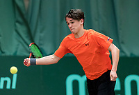Wateringen, The Netherlands, March 9, 2018,  De Rijenhof , NOJK 12/16 years, Stijn Pel (NED)<br /> Photo: www.tennisimages.com/Henk Koster