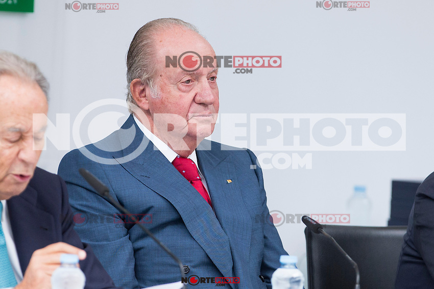 Spainsh King Juan Carlos during the opening of the academic year 2016/2017 university reserach insititute foundation Jose Ortega y Garret and Gregorio Maranon in Madrid, Spain. October 19, 2016. (ALTERPHOTOS/Rodrigo Jimenez) /NORTEPHOTO.COM