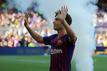 53e Trofeu Joan Gamper.<br /> Presentation 1st team FC Barcelona.<br /> Sergi Roberto.