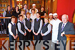 General Manager Willie Buckley with staff at the River Island Hotel Castleisland