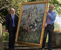11/05/09 Edward Hornel painting returned to the city