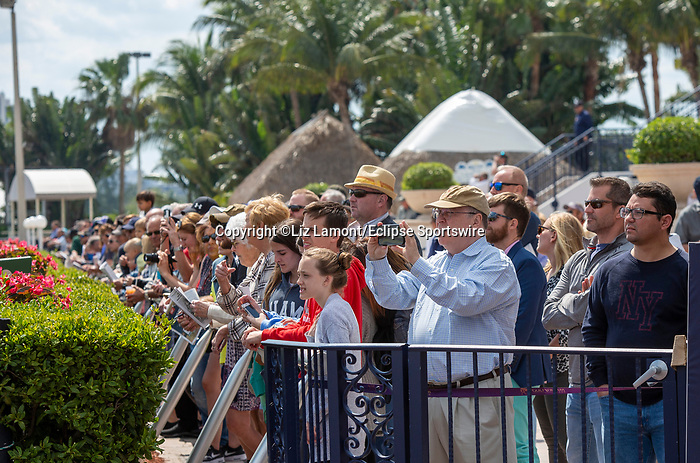 February 29, 2020: Scenes from Fountain of Youth Stakes Day on February 29th, 2020 at Gulfstream Park in Hallandale Beach, Florida. LizLamont/Eclipse Sportswire/CSM