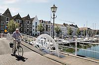 Middelburg- De Spijkerbrug in het centrum van Middelburg
