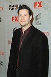 WILLIAM RAGSDALE. Arrivals to the premiere screening of the FX original drama series, Justified, at the Directors Guild of America. Los Angeles, CA, USA. March 8, 2010.