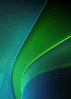 Abstract green curved backgrounds pattern