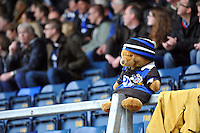 A general view of a teddy bear kitted out in Bath colours. Amlin Challenge Cup semi-final, between London Wasps and Bath Rugby on April 27, 2014 at Adams Park in High Wycombe, England. Photo by: Patrick Khachfe / Onside Images