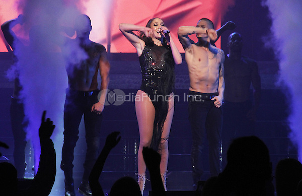LEDYARD, CT - JUNE 21, 2014 On The Rocks Entertainment Presents JLo at The Grand Theatre at the Foxwoods Resort & Casino June 22, 2014 in Ledyard, CT Walik Goshorn/MediaPunch