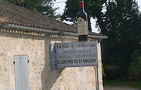 La Cave de Larchevesque, Chateau Le Sable. Fronsac / Saint Emilion. Bordeaux, France