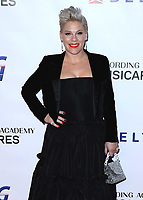 LOS ANGELES - FEBRUARY 8:  Pink at the 2019 MusiCares Person of the Year honoring Dolly Parton at Los Angeles Convention Center on February 8, 2018 in Los Angeles, California. (Photo by Xavier Collin/PictureGroup)