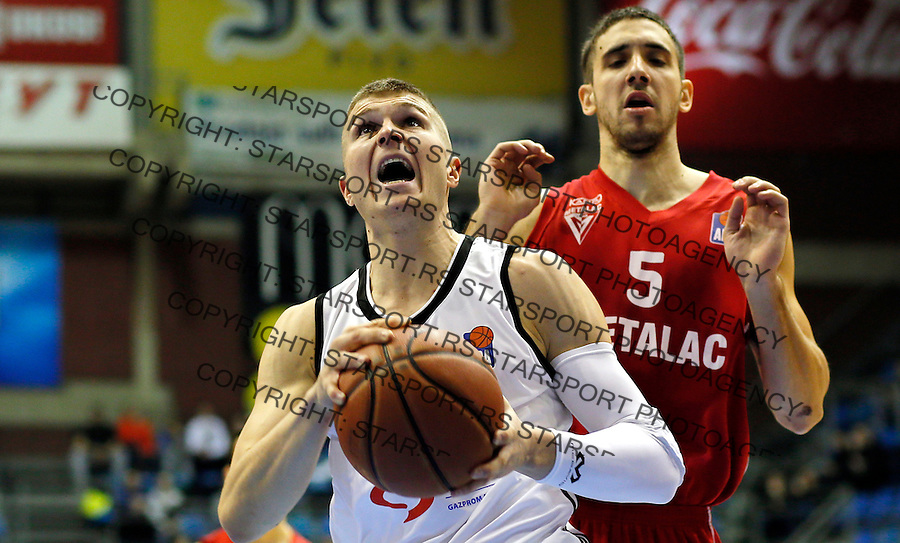 Edo Muric Partizan - Metalac kosarka ABA regionalna liga 13.12.1015. December 13. 2015. (credit image & photo: Pedja Milosavljevic / STARSPORT)