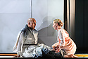 """English Touring Opera presents """"Ulysses' Homecoming"""" at the Hackney Empire, prior to its UK tour. Picture shows: Adam Music (Amphinomous),  Martha Jones (Melanto)"""