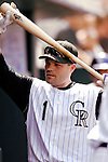26 August 2007:  Colorado Rockies infielder Jamey Carroll walks the dugout during a game against the Washington Nationals at Coors Field in Denver, Colorado. The Rockies defeated the Nationals 10-5 to sweep the 3-game series...Mandatory Photo Credit: Ed Wolfstein Photo