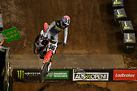 SX1 / RJ Hampshire<br /> Monster Energy Aus-XOpen<br /> Supercross & FMX International<br /> Qudos Bank Arena, Olympic Park NSW<br /> Sydney AUS Sunday 12  November 2017. <br /> © Sport the library / Jeff Crow