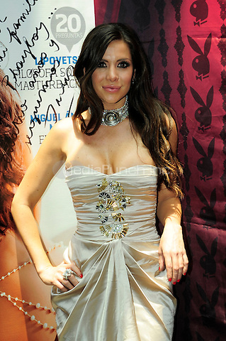 Mexico,DF.- Julia Orayen at the press conference promoting her July 2012 Playboy Mexico cover issue. June 27, 2012. Credit: Carlos Tischler/Zenitimages/NortePhoto/MediaPunch Inc. ***FOR USA ONLY***