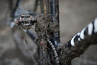 muddy sections = muddy bikes<br /> <br /> Superprestige Diegem 2015