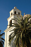 St. Augustine Cathedral bell tower, Tucson, Arizona