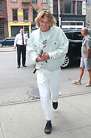 NEW YORK, NY - SEPTEMBER 8: Jordan Barrett seen on September 8, 2017 in New York City. <br /> CAP/MPI/DC<br /> &copy;DC/MPI/Capital Pictures