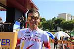 Stephane Rossetto (FRA) Cofidis arrives at sign on before the start of Stage 2 of La Vuelta 2019 running 199.6km from Benidorm to Calpe, Spain. 25th August 2019.<br /> Picture: Eoin Clarke | Cyclefile<br /> <br /> All photos usage must carry mandatory copyright credit (© Cyclefile | Eoin Clarke)