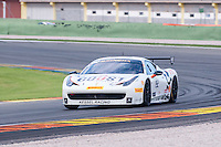 VALENCIA, SPAIN - OCTOBER 2: Jacques Duyver during Valencia Ferrari Challenge 2015 at Ricardo Tormo Circuit on October 2, 2015 in Valencia, Spain