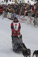 Jason Barron Willow restart Iditarod 2008.