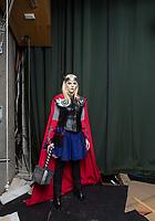 LETTLAND, 08.2017, Riga. Cosplay-Spieler.   Costume Roleplay.<br /> © Reinis Hofmanis/EST&OST