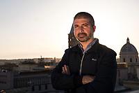 Roma, 15 Settembre, 2017. Il Vice Presidente di Casapound, Simone di Stefano.