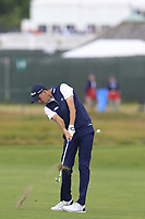 Chesson Hadley (USA) plays his 2nd shot on the 8th hole during Friday's Round 2 of the 118th U.S. Open Championship 2018, held at Shinnecock Hills Club, Southampton, New Jersey, USA. 15th June 2018.<br /> Picture: Eoin Clarke | Golffile<br /> <br /> <br /> All photos usage must carry mandatory copyright credit (&copy; Golffile | Eoin Clarke)