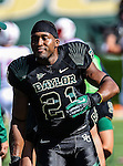 Baylor Bears running back Jarred Salubi (21) in action during the game between the Southern Methodist Mustangs and the Baylor Bears at the Floyd Casey Stadium in Waco, Texas. Baylor defeats SMU 59 to 24.