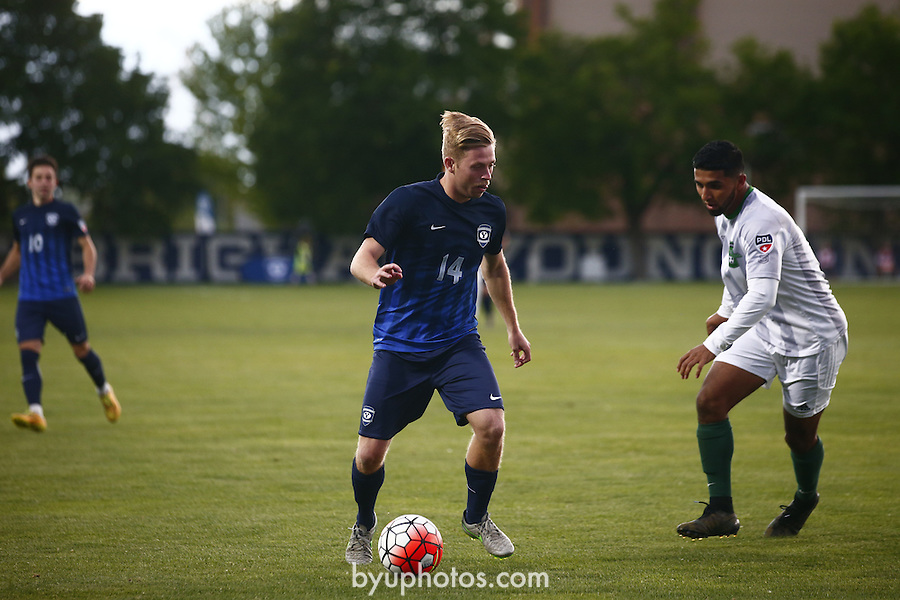 16mSOC vs Burlingame 522<br /> <br /> 16mSOC vs Burlingame<br /> <br /> May 21, 2016<br /> <br /> Photography by Aaron Cornia/BYU<br /> <br /> Copyright BYU Photo 2016<br /> All Rights Reserved<br /> photo@byu.edu  <br /> (801)422-7322
