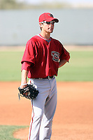 Ender Inciarte, Arizona Diamondbacks 2010 minor league spring training..Photo by:  Bill Mitchell/Four Seam Images.
