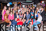 Tammy Dwyer, Killorglin seated centre who celebrated her 30th birthday with her family and friends  in the Old Forge bar Killorglin on Friday night