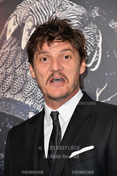 Pedro Pascal at the premiere for &quot;The Great Wall&quot; at the TCL Chinese Theatre, Hollywood, Los Angeles, USA 15 February  2017<br /> Picture: Paul Smith/Featureflash/SilverHub 0208 004 5359 sales@silverhubmedia.com