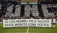 SAO PAULO SP, 13  MARCO 2013 - Libertadores da America - CORINTHIANS X TIJUANA -     durante partida valida pela Taca Libertadores da Amercia no Estadio do Pacaembu em Sao Paulo, nesta quarta feira, 13. (FOTO: ALAN MORICI / BRAZIL PHOTO PRESS).