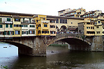 The Ponte Vecchio in Florence,Italy.