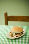 Allen & Son Barbeque's national award winning sandwhich.