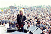 LITA FORD - performing live at the Heavy Sound Festival at Poperinge in Belgium - 10 Jun 1984.  Photo credit: PG Brunelli/IconicPix