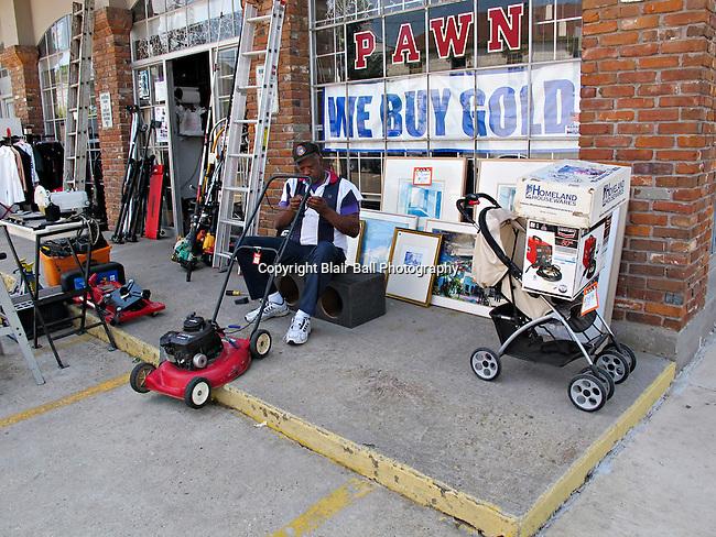 Downtown Vicksburg Pawn Shop