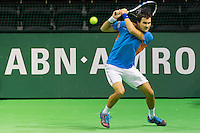 ABN AMRO World Tennis Tournament, Rotterdam, The Netherlands, 13 februari, 2017, Evgeny Donskoy (RUS)<br /> Photo: Henk Koster