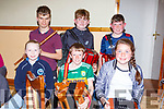 Kayleigh O'Sullivan, Dylan counihan, Alison piggott back row: Kirill Healy, Liam Kerrisk and Michael Healy at the Kilcummin Ranbling House on Saturday evening