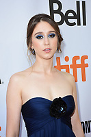 Taissa Farmiga at the 'What They Had' premiere during the 2018 Toronto International Film Festival at Roy Thomson Hall on September 12, 2018 in Toronto, Canada.<br /> CAP/KNM<br /> &copy;IkonMediia/Capital Pictures