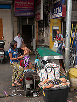 Street Children and Mother, Street Photography in Manila, Devisoria and China Town, Philippines