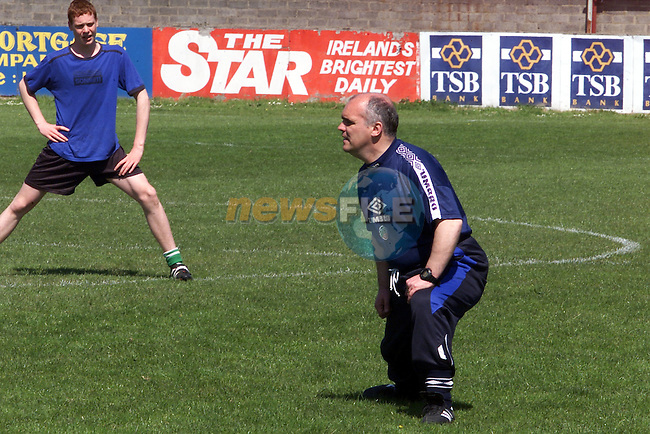 Tom O'Connor pictured traing at the Drogheda soccer academy at United park..Picture: Arthur Carron/Newsfile
